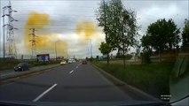 Une usine chimique pollue toute une ville d'un nuage toxique en Roumanie