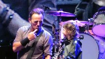 Bruce Springsteen Young Fan Gets Guitar From Bruce Dancing In The Dark Kilkenny 2 28th Jul