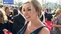 Katherine Jenkins looks stunning on the BAFTAs red carpet