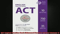 READ FREE FULL EBOOK DOWNLOAD  ACT English Practice Book Advanced Practice Series Volume 7 Full Ebook Online Free