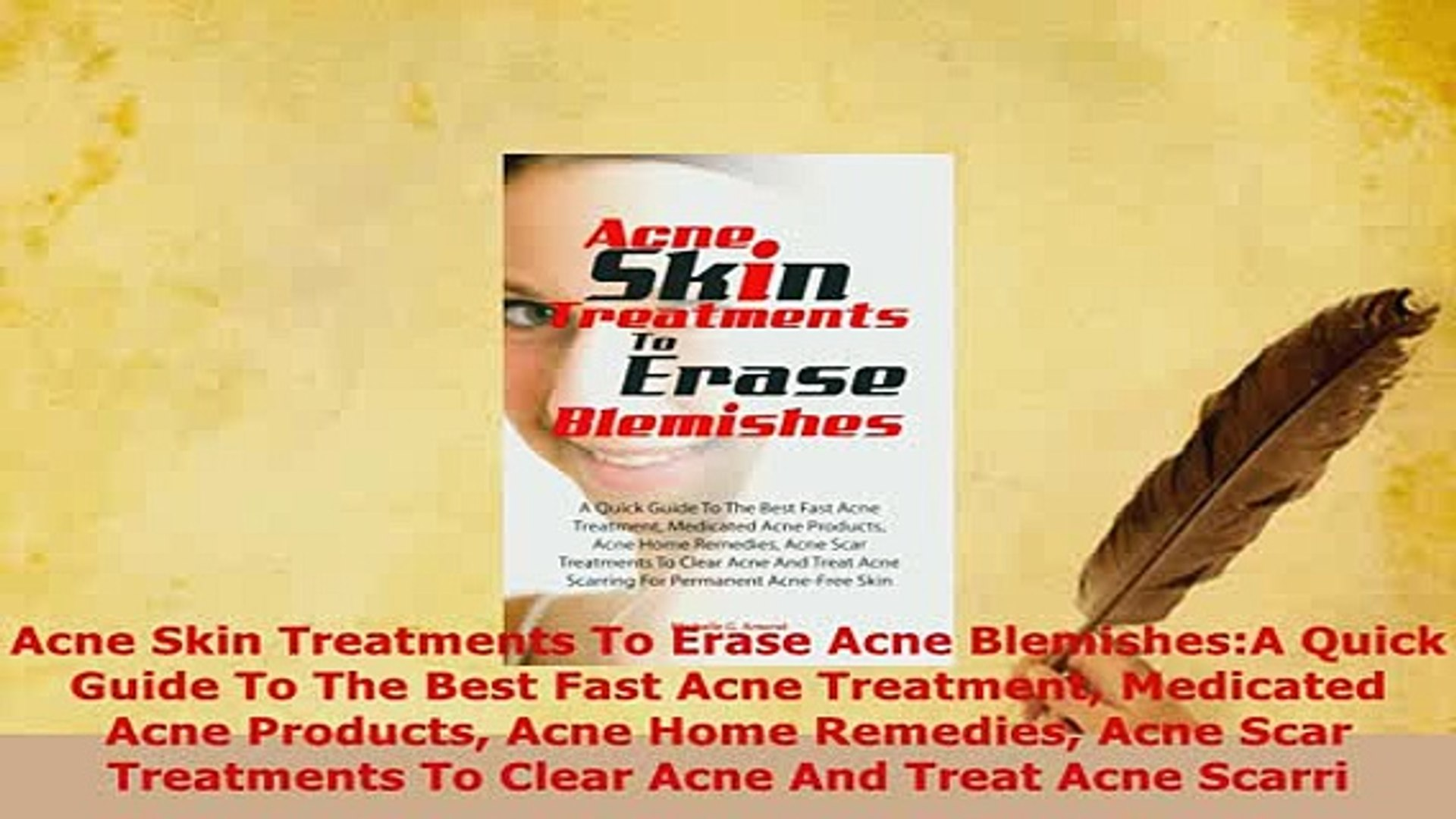 Pdf Acne Skin Treatments To Erase Acne Blemishesa Quick Guide To