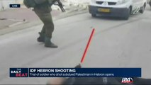 IDF Hebron Shooting: new footage shows different angle of moments before shooting