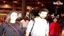 Pregnant Mira Rajput and Shahid Kapoor spotted at Mumbai airport