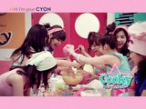 "HD SNSD CF - Cooky 15"" Commercial , LG CYON Apr26.2010 GIRLS' GENERATION 720p"