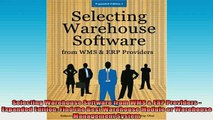 READ book  Selecting Warehouse Software from WMS  ERP Providers  Expanded Edition Find the Best Online Free