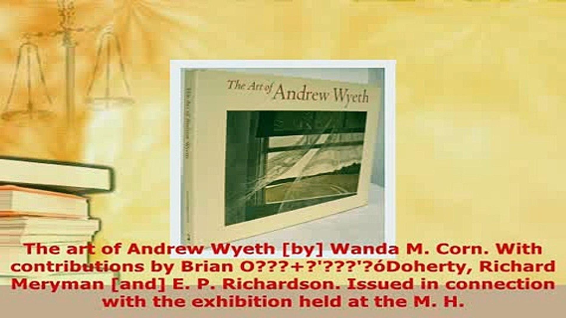 First Impressions Andrew Wyeth