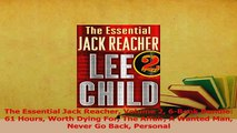 Read  The Essential Jack Reacher Volume 2 6Book Bundle 61 Hours Worth Dying For The Affair A Ebook Free