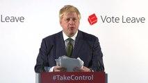 Boris Johnson gives Brexit case