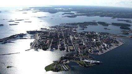 Karlskrona by air