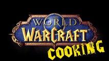 #10 Рулетик из соленого кальмара - World of Warcraft Cooking Skill in life - Кулинария мира Варкрафт