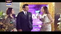 Mr & Mrs. Faysal Qureshi On The Orange Carpet Of ARY Film Awards 2016