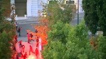 Des incidents on éclaté en marge des manifestations à Athènes