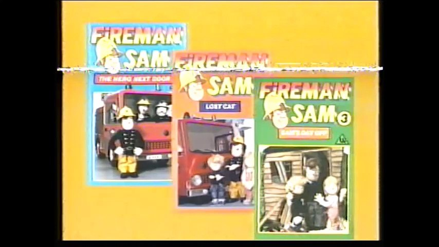 Start and End of Fireman Sam 4 - Snow Business VHS (Monday 2nd October 1989)   Godialy.com