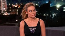 Brie Larson Tries to Guess Who Won the Super Bowl