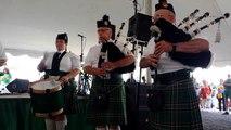 West Side Irish American Club Pipe Band - July 19, 2014