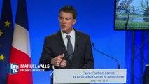 Terrorisme: le nouveau plan Valls contre la radicalisation