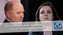Affaire Baupin: Emmanuelle Cosse défend son mari