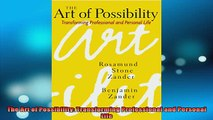 READ FREE Ebooks  The Art of Possibility Transforming Professional and Personal Life Online Free