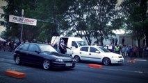 Opel Astra GSI Vs. Opel Astra Drag Race HD