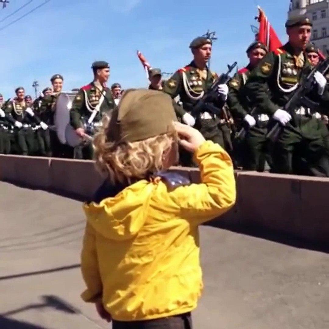 На параде в Москве ! Весь МИР был покорен этим видео !!!