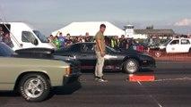 Chevrolet Camaro Z28 Turbo Nitro Vs. Chevrolet Chevelle 2
