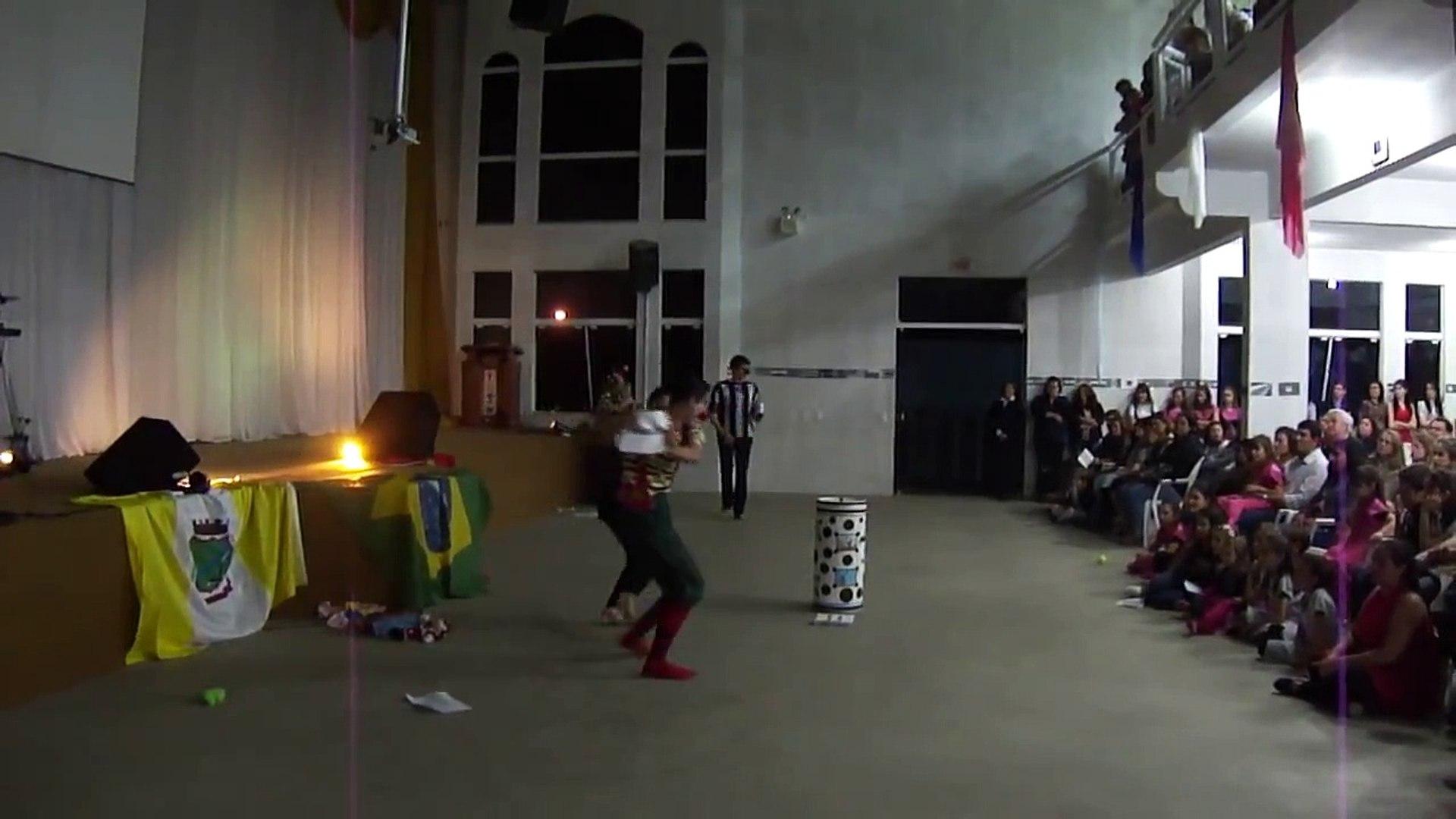 Grupo de Teatro Leão de Judá -  Essência da santidade-Gaspar 24/09/2011