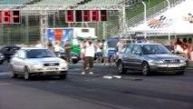 Audi A4 Avant Biturbo Vs. Audi S2 Coupe Turbo 700 HP