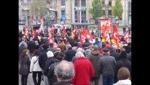Défilé du 1er mai 2016 à Nancy