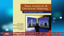 READ book  Data Analysis and Decision Making with Microsoft Excel Includes Microsoft Office Excel Full Free