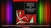 READ book  Strategic Sourcing of Information Systems Perspectives and Practices Free Online