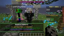 PopularMMOs Minecraft: PARTY MINI-GAMES! (COIN JUMPING, VOLCANO PARKOUR, PIG FISHING!) Mini-Game