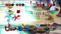 Digimon All Star Rumble Gameplay 4P Battle Guilmon, Agumon, Veemon, Shoutmon