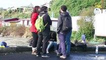 Isla chilena arde en protestas de pescadores