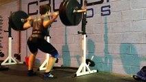 100kg Squat 20 Reps