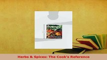 PDF  Herbs  Spices The Cooks Reference PDF Online