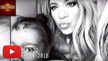 Khloe Kardashian Shares Cute Video With North West | Hollywood Asia