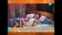 Extrema pobreza en San Pedro: niño tiene 11 años y pesa 17 kilos 13/01/2015