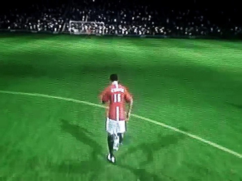 Funny Moments In Fifa 09 (Glitches)