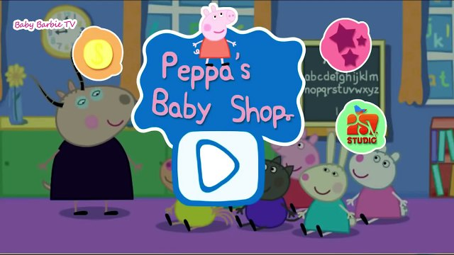 Peppa Pig Shopping episode - Baby shop - App for Kids