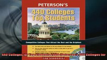 READ book  440 Colleges for Top Students 2008 Petersons 440 Colleges for Top Students Full Free