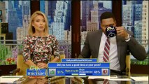 """Live! With Kelly and Michael 05/09/16 Jodie Foster (""""Money Monster""""); Megyn Kelly."""