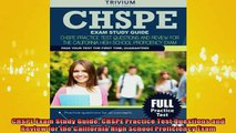 READ FREE FULL EBOOK DOWNLOAD  CHSPE Exam Study Guide CHSPE Practice Test Questions and Review for the California High Full EBook