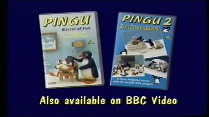 Start and End of Pingu 3 - Hide and Seek VHS (Monday 5th October 1992) | Godialy.com