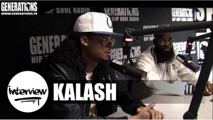 Kalash - Interview #Kaos (Live des studios de Generations)