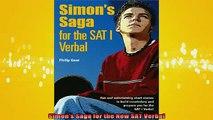 READ book  Simons Saga for the New SAT Verbal Full EBook