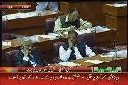 Asad Umar to Khawaja Asif _Kuch Haya Hoti Hai_ Kuch Sharam Hoti Hai_ in Parliame