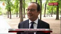 """Hollande : """"Ce rêve de la France, oui, nous devons encore le faire et le faire ensemble"""""""