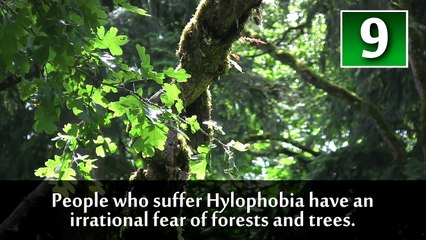 Top 10 Strange Phobias You Wont Believe Are Real