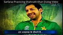 Sarfaraz Practicing Shahrukh Khan Dialog Video goes hit both India & Pakistan Video