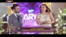 Ayaz Samoo On The Orange Carpet Of ARY Film Awards 2016